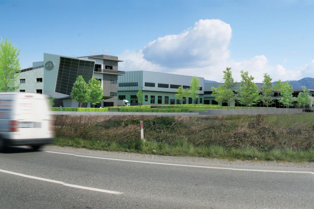 Nuovo insediamento produttivo Mazzucconi
