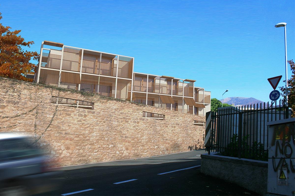 Edificio residenziale – Tribulina di Scanzo