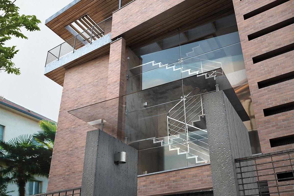Edificio residenziale – via Caravaggio – Bg