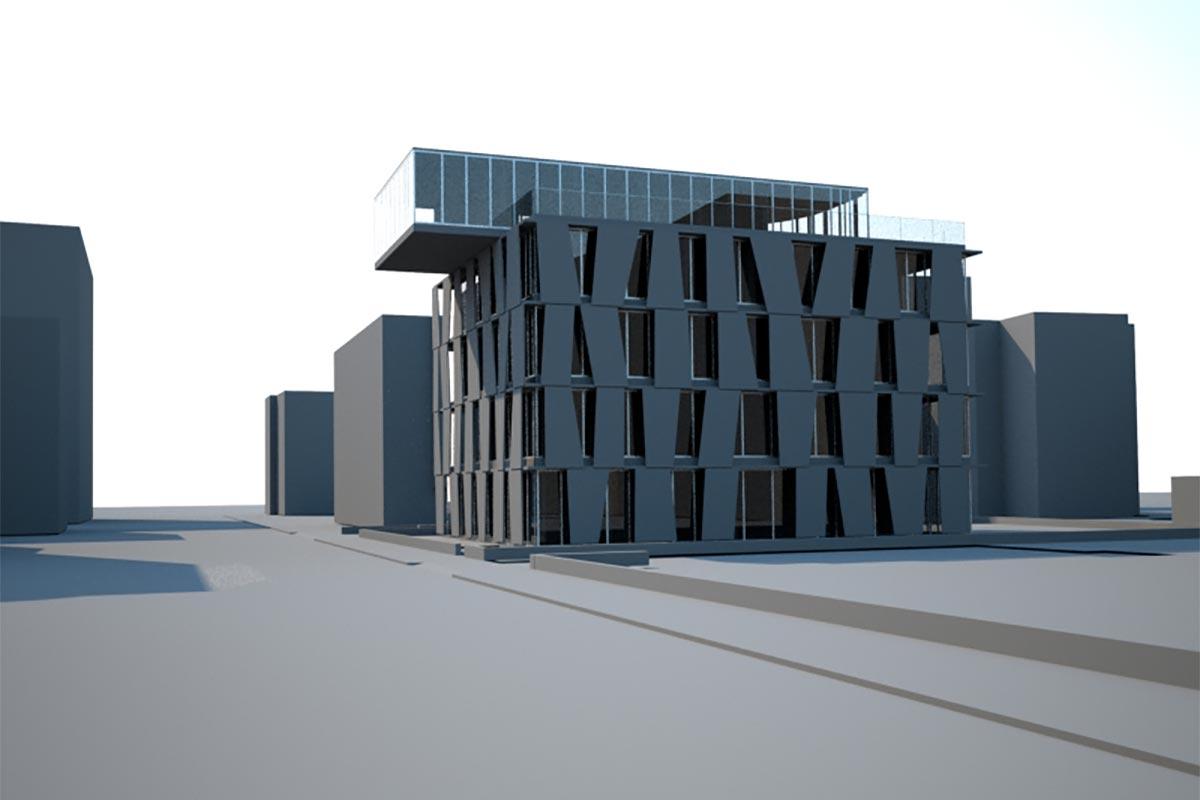 Edificio residenziale – via Verdi – Bg