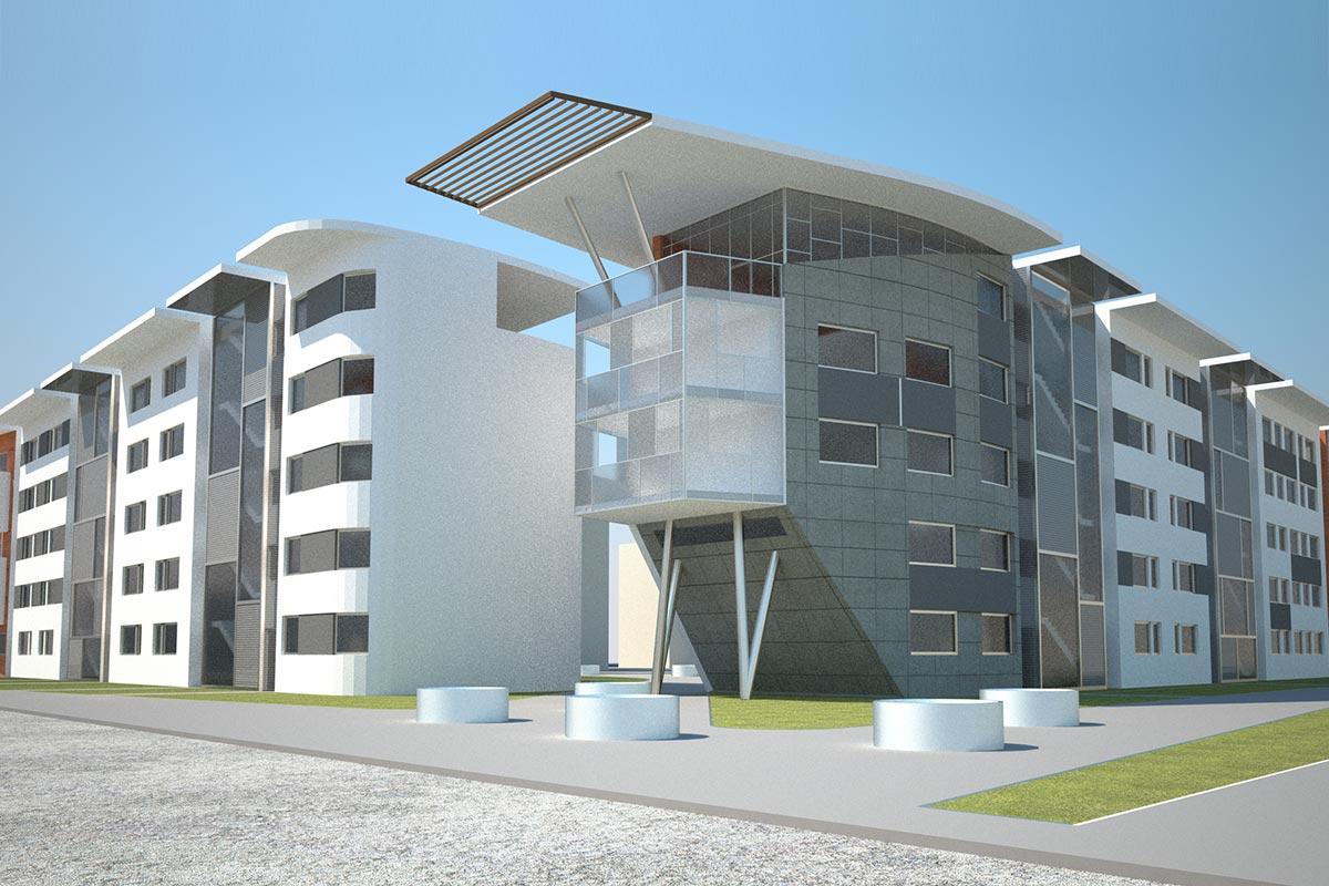 Edificio residenziale – via Zendrini – Bg